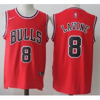 Zach Lavine Chicago Bulls Red 2017-18 NBA X Nike Swingman Jersey