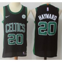 Gordon Hayward Boston Celtics Black Jersey