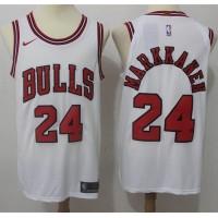 Lauri Markkanen Chicago Bulls White Jersey