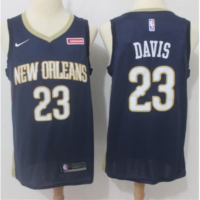 Anthony Davis New Orleans Pelicans Blue Jersey