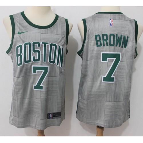 official photos 0f896 07f31 Jaylen Brown Boston Celtics 2017-18 City Edition Jersey