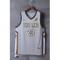LeBron James Cleveland Cavaliers 2017-18 City Edition Jersey