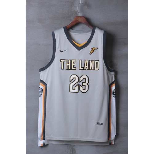 dd6b9956b LeBron James Cleveland Cavaliers 2017-18 City Edition Jersey