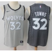 Karl Anthony Towns Minnesota Timberwolves City Edition 2017-18 NBA X Nike Swingman Jersey