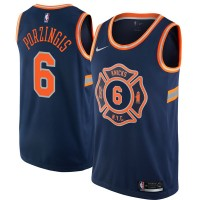 Kristaps Porziņģis New York Knicks City Edition 2017-18 NBA X Nike Swingman Jersey