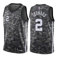 Kawhi Leonard San Antonio Spurs City Edition 2017-18 NBA X Nike Swingman Jersey