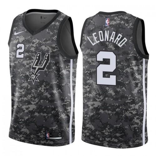 f47761b33738 Kawhi Leonard San Antonio Spurs 2017-18 City Edition Jersey