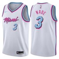 Dwyane Wade Miami Heat 2017-18 City Edition  Jersey
