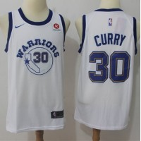Stephen Curry Golden State Warriors Retro White Jersey