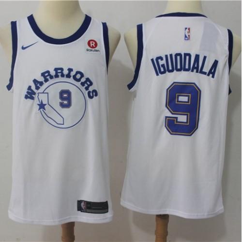 premium selection 0a4f6 cda57 Andre Iguodala Golden State Warriors Retro White Jersey