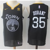 Kevin Durant Golden State Warriors Black Jersey