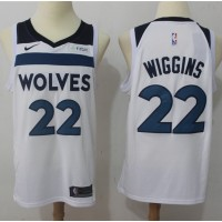 Andrew Wiggins Minnesota Timberwolves White Jersey