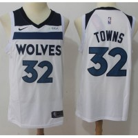 Karl-Anthony Towns Minnesota Timberwolves White Jersey
