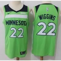 Andrew Wiggins Minnesota Timberwolves Fluorescent Green Jersey