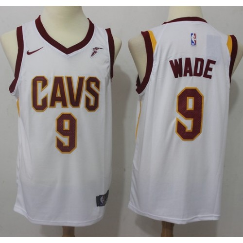 timeless design 1ba80 a9236 Dwyane Wade Cleveland Cavaliers White Jersey