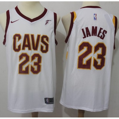 LeBron James Cleveland Cavaliers White Jersey