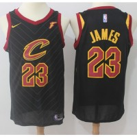 LeBron James Cleveland Cavaliers Black Jersey