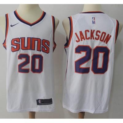 Josh Jackson Phoenix Suns White Jersey