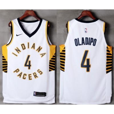 Victor Oladipo Indiana Pacers White Jersey