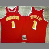 Tracy McGrady Mitchell & Ness Houston Rockets 04-05 Red Jersey  - Super AAA
