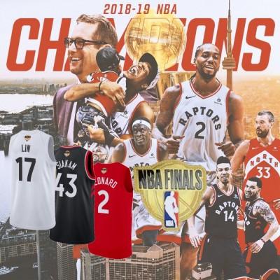**Toronto Raptors 2019 Finals Patch Jerseys**Player Grade Jerseys**
