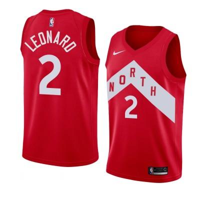 Kawhi Leonard Toronto Raptors 2018-19 Earned Edition Jersey