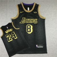 **Kobe Bryant Los Angeles Lakers 2018 City Edition Front #8 Back #24 Jersey
