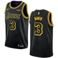 Anthony Davis Los Angeles Lakers 2018 City Edition Jersey