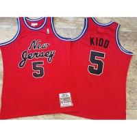 Jason Kidd Mitchell & Ness 2006-07 New Jersey Nets Red Jersey - Super AAA