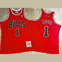 Derrick Rose Mitchell & Ness Chicago Bulls Rookie Season 2008-09 Red Jersey - Super AAA