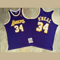 Shaquille O'Neal Mitchell & Ness Los Angeles Lakers 1996-97 Purple Jersey - Super AAA