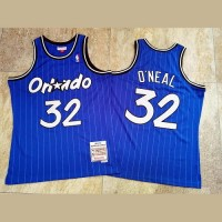 Shaquille O'Neal Mitchell & Ness Orlando Magic 1994-95 Blue Jersey - Super AAA
