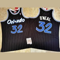 Shaquille O'Neal Mitchell & Ness Orlando Magic 1994-95 Black Jersey - Super AAA