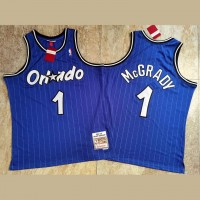 Tracy McGrady Mitchell & Ness Orlando Magic 2003-04 Blue Jersey - Super AAA