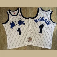 Tracy McGrady Mitchell & Ness Orlando Magic 2003-04 White Jersey - Super AAA