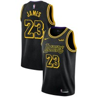 LeBron James Los Angeles Lakers 2017-18 City Edition Jersey