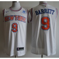 RJ Barrett 2019-20 New York Knicks White Jersey
