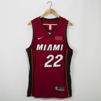 Jimmy Butler 2019-20 Miami Heat Red Jersey