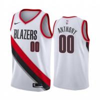 Carmelo Anthony Portland Trail Blazers White Jersey
