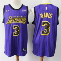 Anthony Davis Los Angeles Lakers 2019 City Edition Jersey