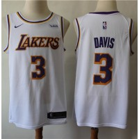 Anthony Davis 2019-20 Los Angeles Lakers White Jersey