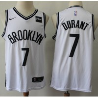Kevin Durant 2019-20 Brooklyn Nets White Jersey