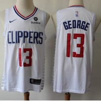Paul George 2019-20 Los Angeles Clippers White Jersey