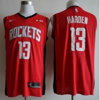 James Harden 2019-20 Houston Rockets Red Jersey