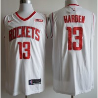 James Harden 2019-20 Houston Rockets White Jersey