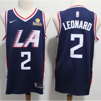Kawhi Leonard Los Angeles Clippers 2019 City Edition Jersey