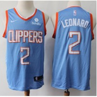 Kawhi Leonard 2019-20 Los Angeles Clippers Light Blue Jersey