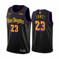 LeBron James 2020 Latin Nights Los Angeles Lakers Jersey