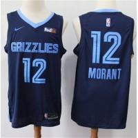 Temetrius Morant 2019-20 Memphis Grizzlies Navy Blue Jersey