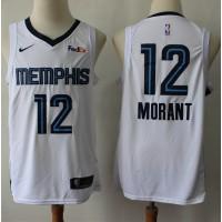 Temetrius Morant 2019-20 Memphis Grizzlies White Jersey
